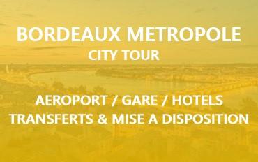 Transport VTC dans Bordeaux Métropole